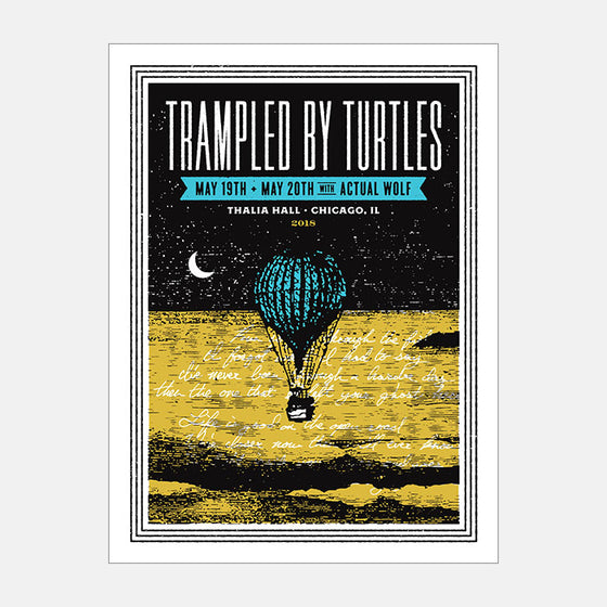 Trampled by Turtles [Chicago] by Aesthetic Apparatus