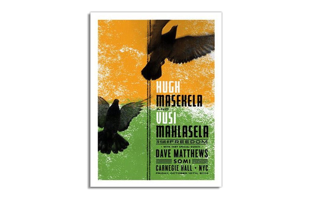 Hugh Masekela and Dave Matthews by Aesthetic Apparatus