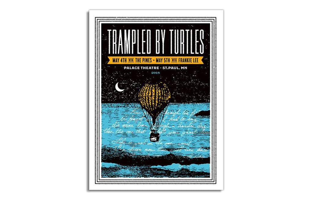 Trampled by Turtles [Minnesota] by Aesthetic Apparatus