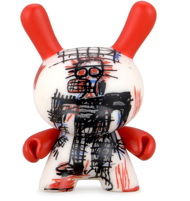 Jean Michel Basquiat Faces by KidRobot