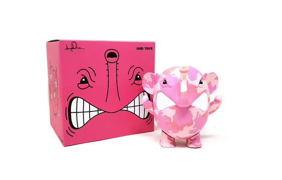 Charlie the Angry Elephant [Pink Camo] by Angel Once