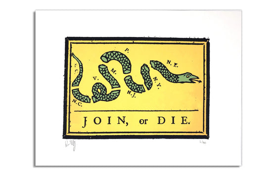 Join, Or Die by Billy Craven