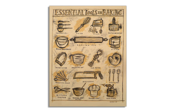 Essential Tools of Baking by Dan Grzeca