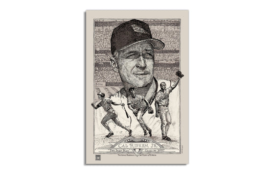 Cal Ripken [Regular] by David Welker