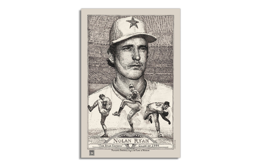 Nolan Ryan [Regular] by David Welker