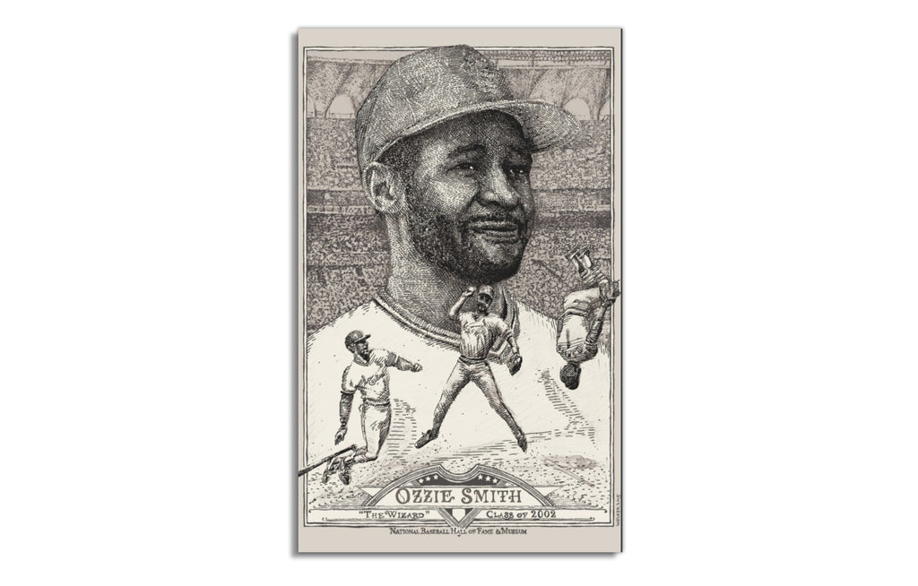 Ozzie Smith [Regular] by David Welker