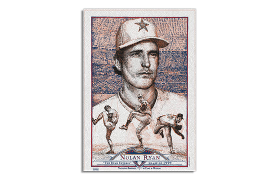 Nolan Ryan [Variant] by David Welker