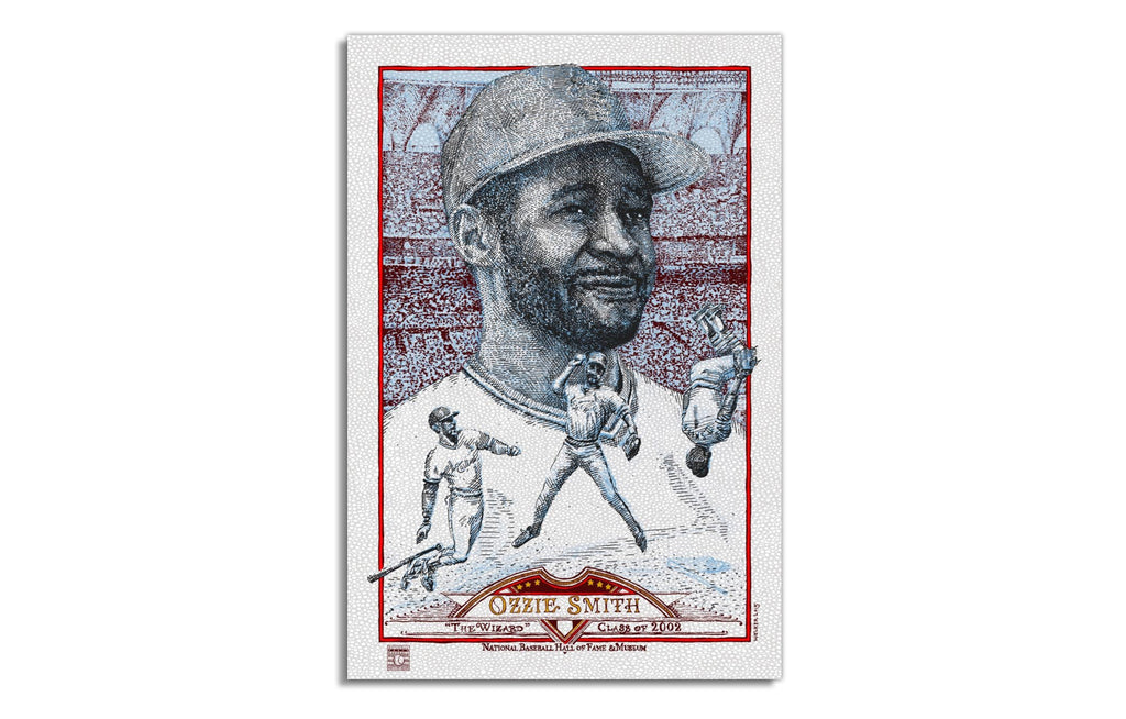 Ozzie Smith [Variant] by David Welker