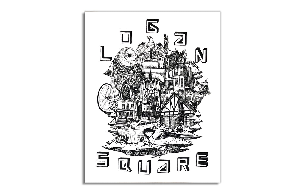 Logan Square by Ian Ferguson