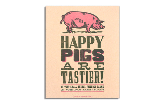 Happy Pigs by Starshaped Press
