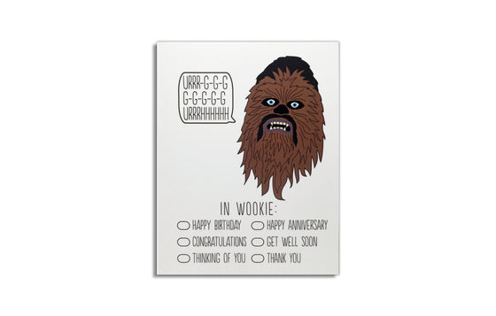 Notecard [Chewbacca] by Arthur's Plaid Pants