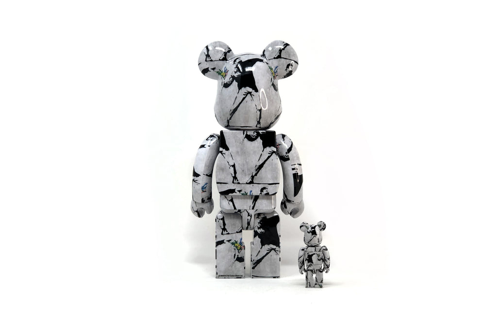 Flower Thrower [100% & 400% Set] by Bearbrick