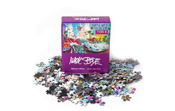 Miami Mice Jigsaw Puzzle by Mark Bode