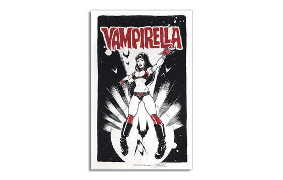Vampirella by Steve Chanks