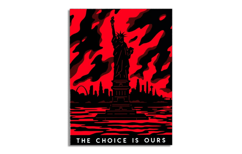 The Choice is Ours by Cleon Peterson