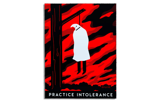 Practice Intolerance by Cleon Peterson