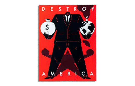 Destroy America by Cleon Peterson