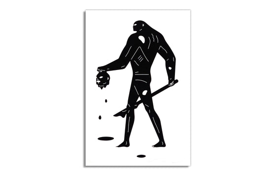 Headless Man by Cleon Peterson