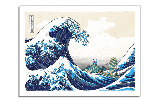 Great Wave by Clint Wilson