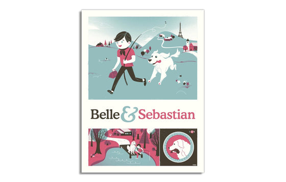 Belle & Sebastian by Delicious Design League