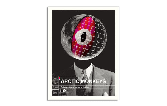 Arctic Monkeys [2018] by Delicious Design League
