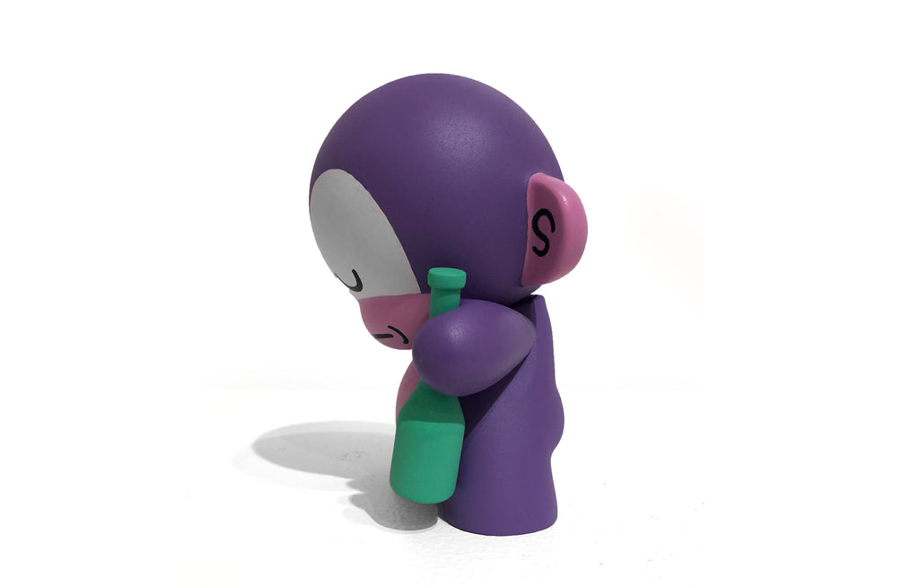 Hand Painted Dipso Munny by Mosher