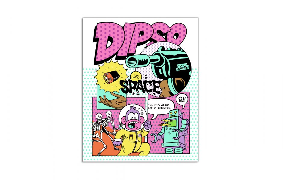 Dipso in Space by Mosher
