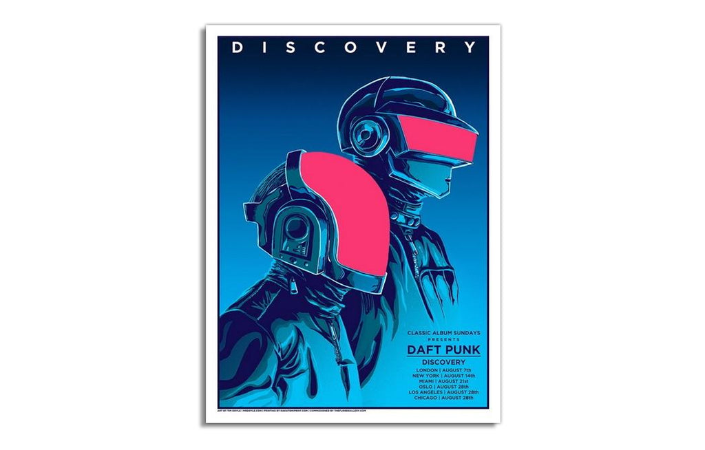 Daft Punk Discovery 2016 by Tim Doyle