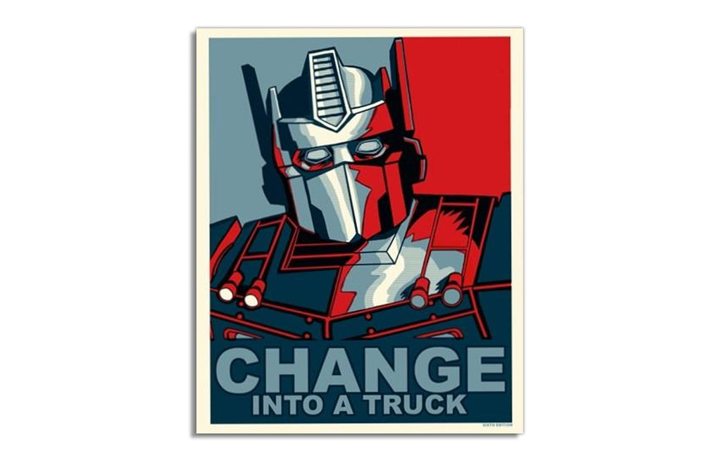 Change Into A Truck by Tim Doyle