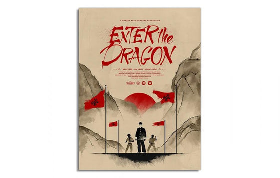 Enter the Dragon by Justin Van Genderen