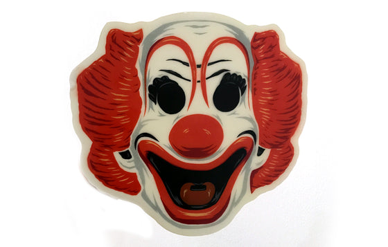 Bozo Halloween Mask [Glow in the Dark] by Epyon5