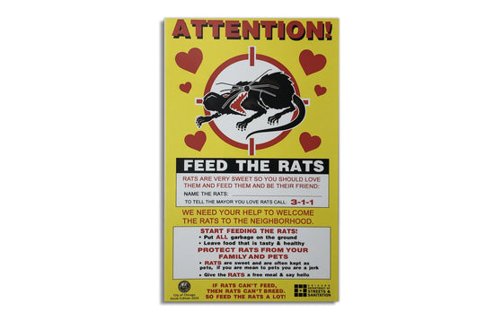 Feed The Rats by Derek Erdman