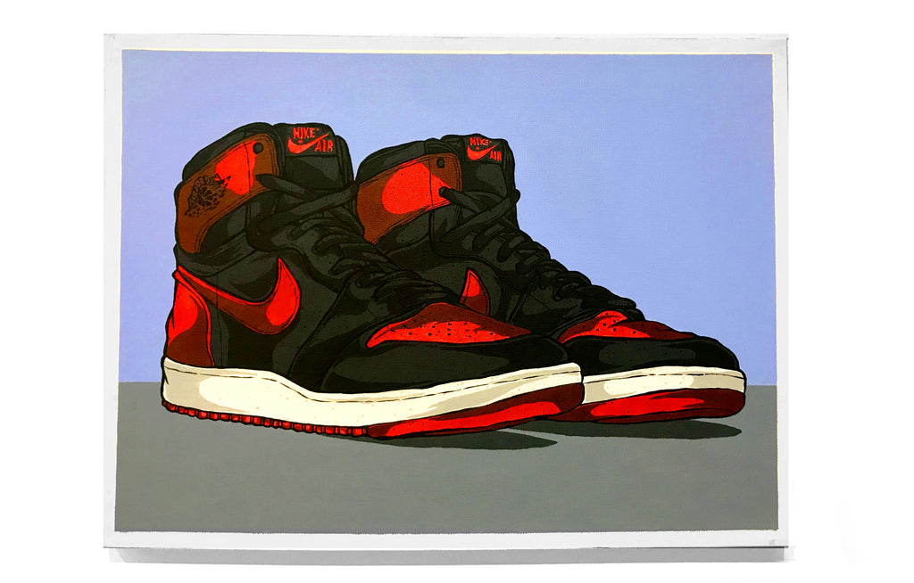Air Jordan 1- Bred by Eric Pagsanjan