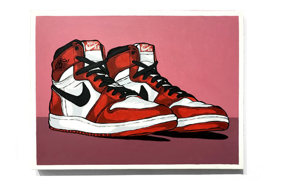 Air Jordan 1- Chicago by Eric Pagsanjan