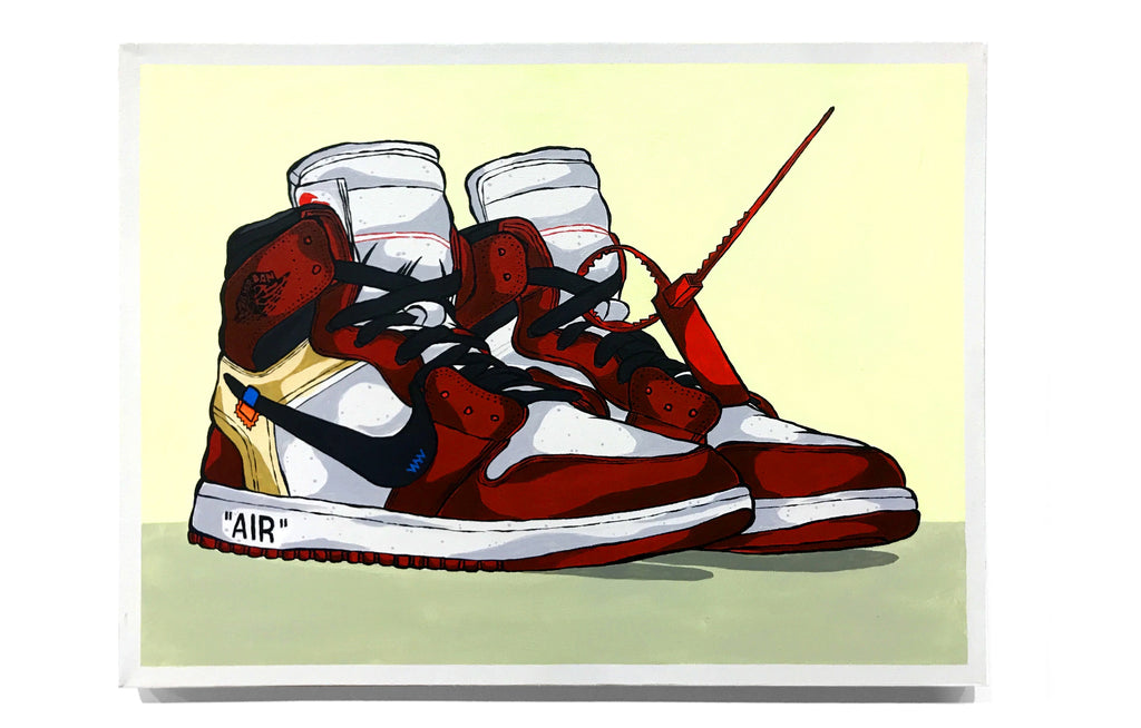Air Jordan 1 - Off-White by Eric Pagsanjan