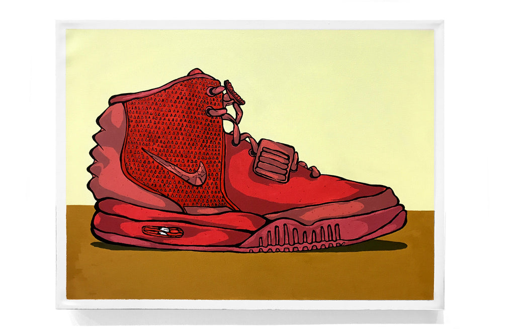Air Yeezy 2 - Red October by Eric Pagsanjan