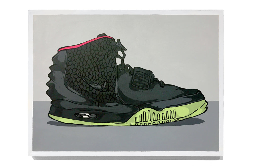 Air Yeezy 2 - Solar Red by Eric Pagsanjan