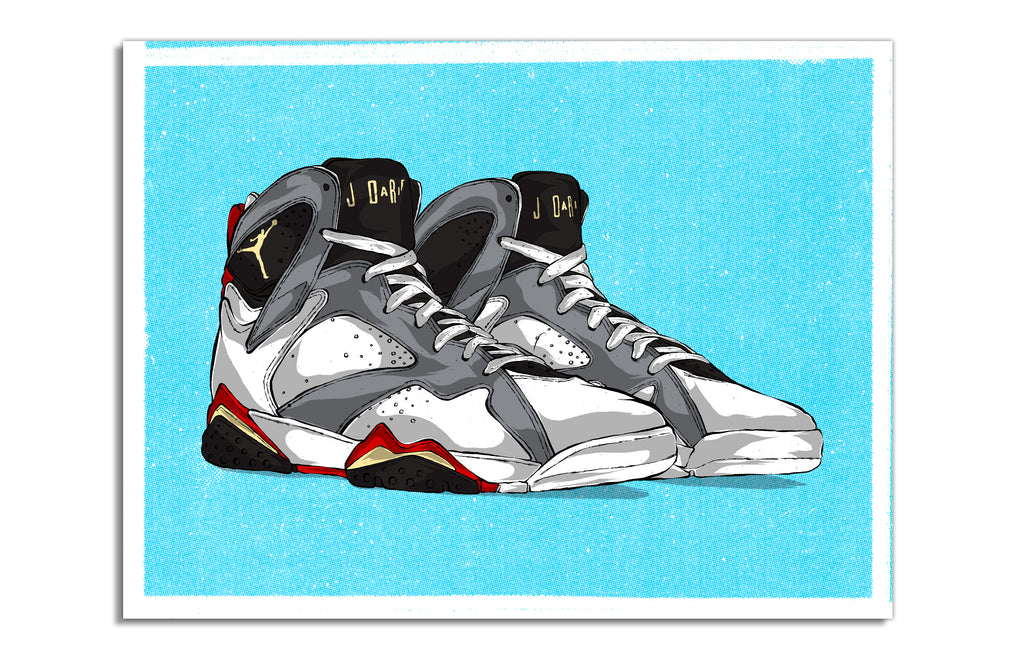 The Twelve: Wear Your Jays [Jordan 7] by Eric Pagsanjan