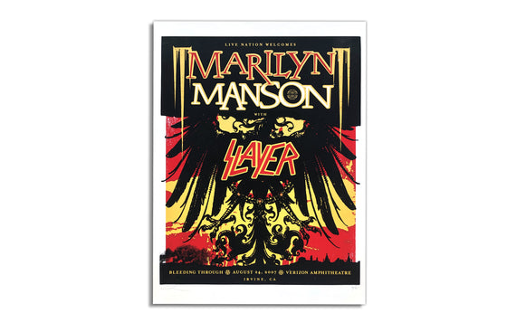 Marilyn Manson with Slayer [2007] by Boss Construction