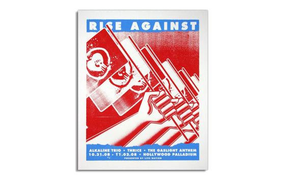 Rise Against, Alkaline Trio, Thrice & The Gaslight Anthem [2008] by Boss Construction