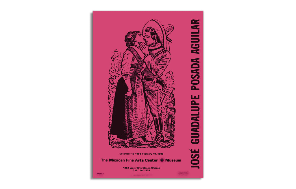 Jose Guadalupe Posada Aguilar Exhibition Poster - Galerie Finds