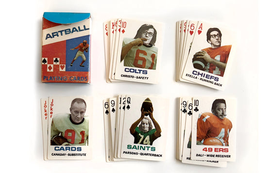 Artball Playing Cards by Don Celender [1972] - Galerie Finds