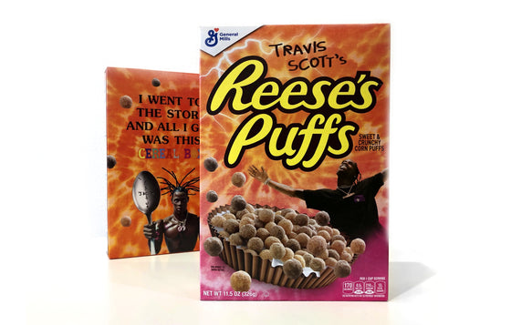 Travis Scott's Reese's Puffs Cereal 11.5 oz