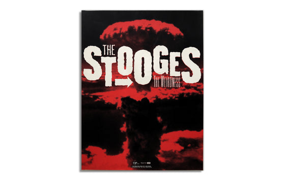 "The Stooges ""The Weirdness"" Promotional Poster"