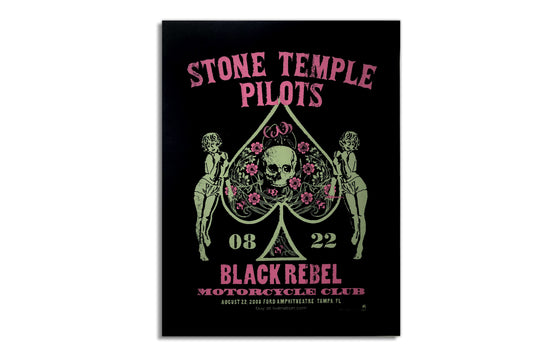 Stone Temple Pilots w/ Black Rebel Motorcycle Club [2008] by Methane Studios