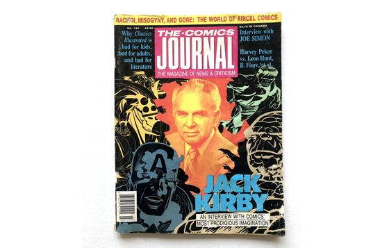 The Comics Journal No.134 Jack Kirby