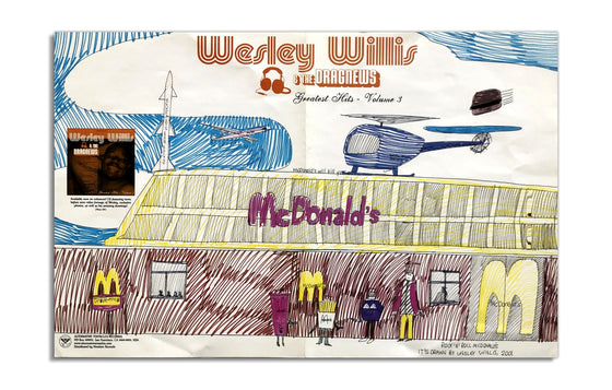 Wesley Willis & the Dragnews