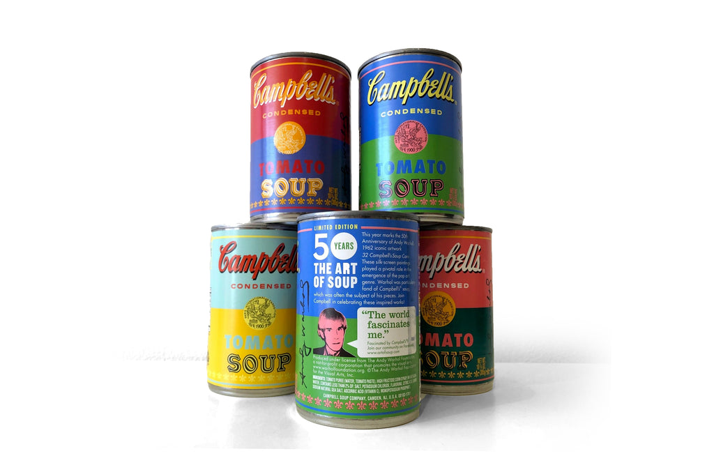 Andy Warhol x Campbell's [BLUE] - Galerie Finds