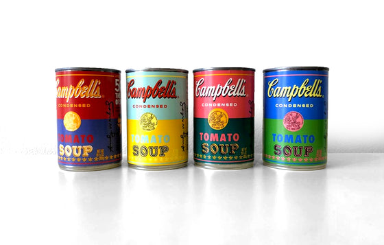 Andy Warhol x Campbell's [SET] - Galerie Finds