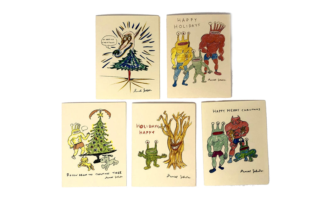 Christmas Card [Asst Small] by Daniel Johnston